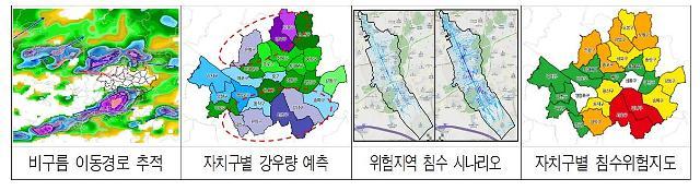 """서울시 """"25개 자치구별 강우량·침수위험지역 예측한다"""""""