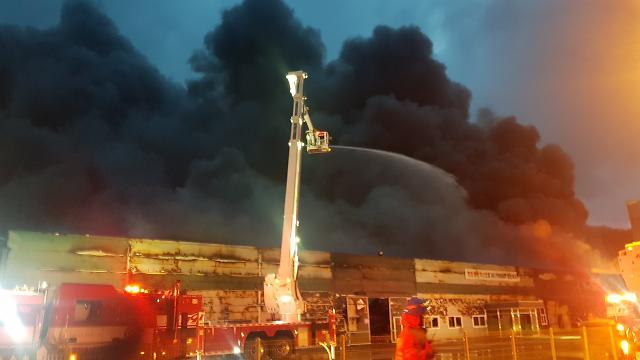 [포토] 불타는 구미공단
