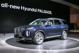 .现代汽车第一季度SUV销售额再超轿车.