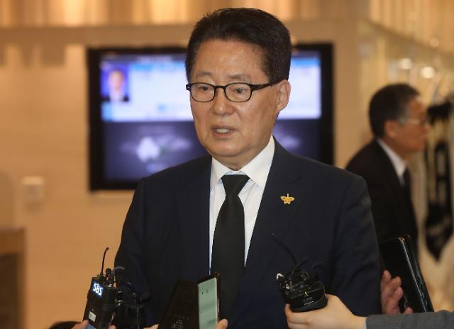 """박지원 """"유시민, 정계복귀 할 것…대선 후보 저는 찬성"""""""