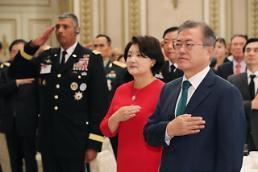 .文在寅明日将与韩美军方高层举行午餐会.