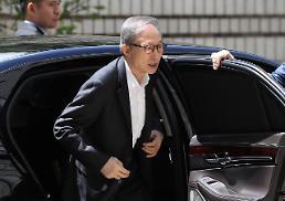 .韩国前总统李明博再次出庭受审.
