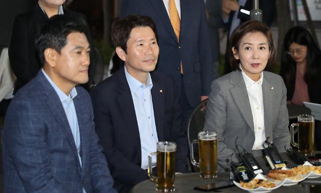 여야 3당 원내대표 맥주 회동…국회 정상화 다짐