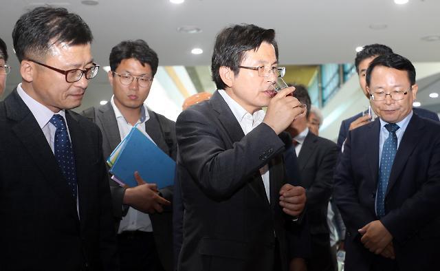 황교안, 민생투쟁 15일 차…인천 남동공단·바지락양식장 방문