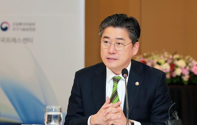 """정승일 산업부 차관 """"인증 관련 규제 개선 중국 정부와 협의할 것"""""""