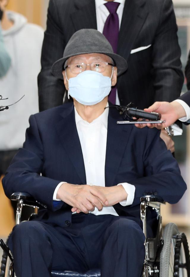 김백준 본인 재판 출석...오는 24일 MB재판에도 출석 가능성