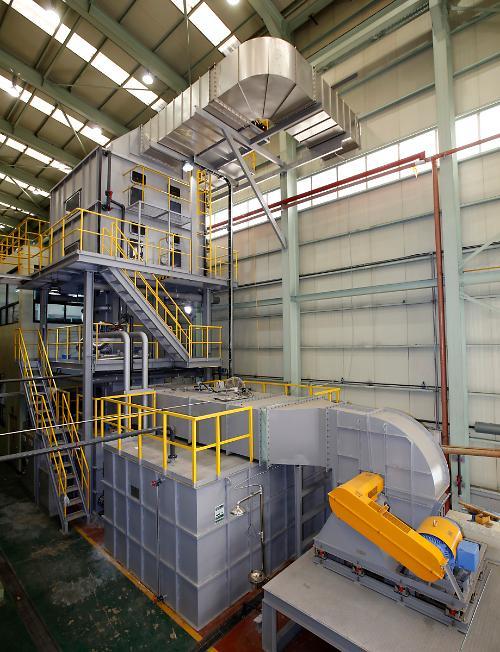 기계연-두산중공업, 화력발전소 미세먼지 10분의 1로 줄일 기술 개발