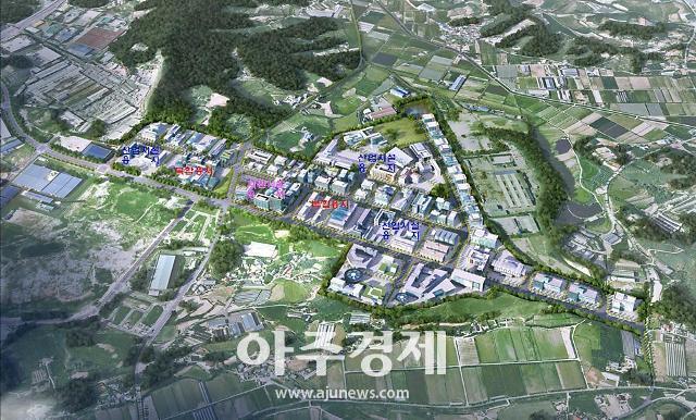 경기도시공사, 안성 중소기업 일반산업단지 계획 승인