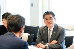 .韩国产业部副部长在深圳与韩企代表座谈.