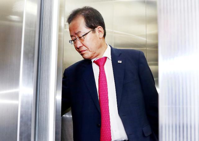 """홍준표 """"文대통령 5·18 당시 사법시험 올인…한국정치 이분법 벗어나야"""""""