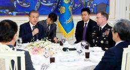 .文在寅:韩美密切协作得当应对朝军发射活动.