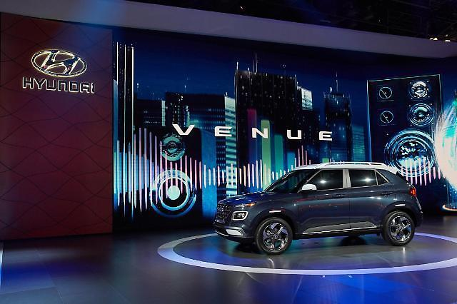 현대차 소형 SUV 베뉴, 인도서 첫 출시