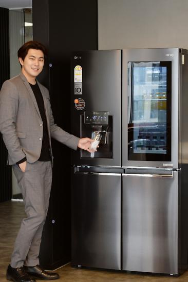 더 깨끗하고 신선하게...LG전자, 디오스 얼음정수기냉장고 출시