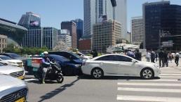 .大韩航空前高管驾驶特斯拉车辆发生追尾事故.