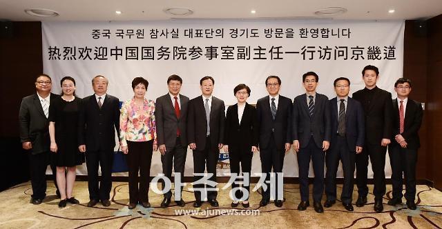 경기도-중국 간 교류협력 방안 논의