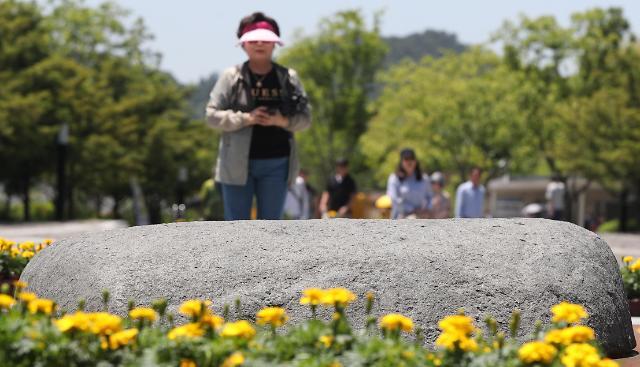 [포토] 10주기 추도식 앞둔 봉하마을