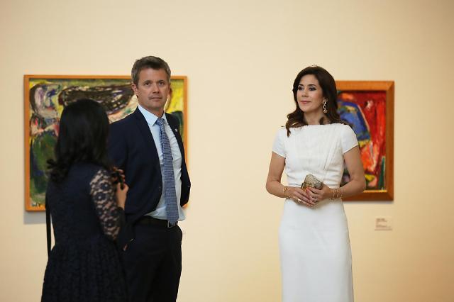 덴마크 왕세자 부부, 국립현대미술관 아스거 욘 전시 개막식 참석