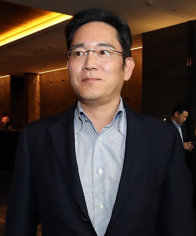 三星电子副会长李在镕时隔四年与美前总统布什会面