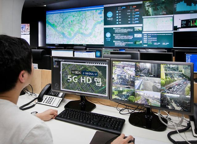 '자율주행 성큼' 5G 버스‧택시 1700대, 서울시내 일반도로 달린다