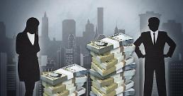.大企业男女收入差距增大 女性薪水仅为男性的64%.