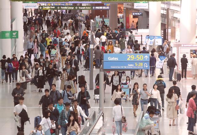 출국자는 늘어나는데…해외에서도 지갑 닫는 가계