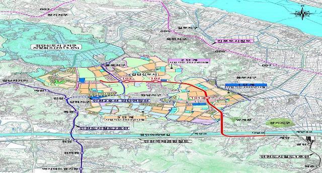 인천시, 검단신도시 철도 인프라 확충