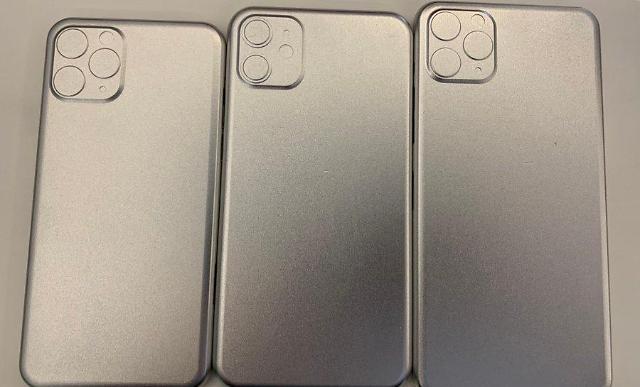 '아이폰11' 'iOS13' 유출 정보 보니...트리플렌즈에 페이스ID 진화
