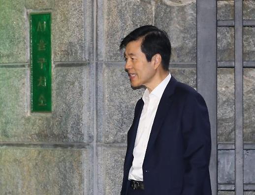[포토] 구속영장 기각된 삼바 김태한 대표이사