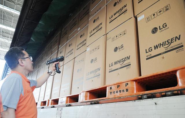 "LG 휘센 씽큐 에어컨 인기···""2월부터 생산라인 풀가동"""