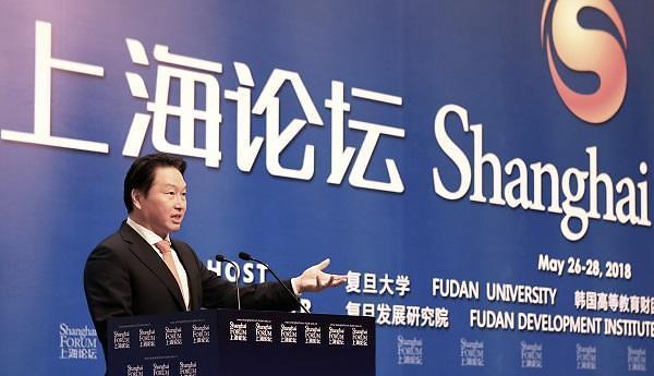 娄勤俭访韩会见SK集团会长崔泰源 双方商定加强合作