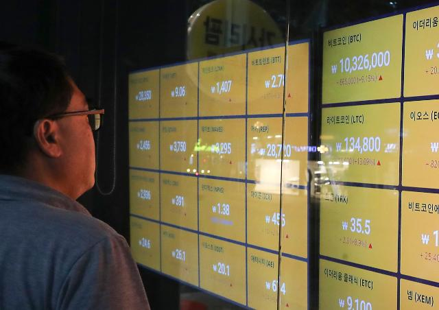 [포토] 비트코인 1천만원 돌파