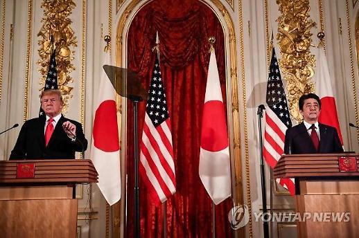외신, 美·日정상 대북문제 엇박자 주목