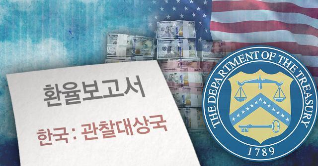 美国财务部将韩国中国等9个国家列入汇率观察对象国