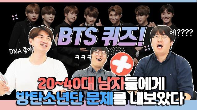방탄소년단(BTS) 퀴즈···과연 당신은 몇 점인가요?