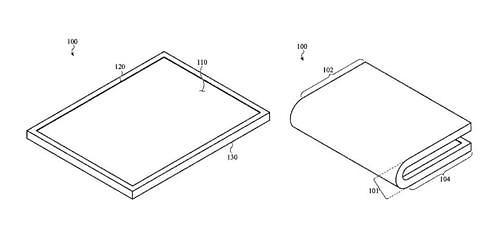 애플, 폴더블 디스플레이 특허 확보···폴더블폰 경쟁 뛰어들까?