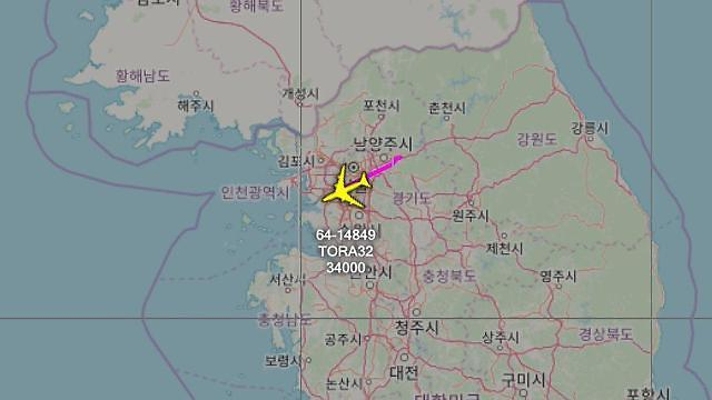 朝鲜要发射导弹? 美侦察机云集首都地区上空