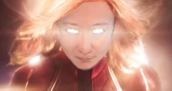 [#SNS★] 선우정아, 캡틴 마블로 변신?