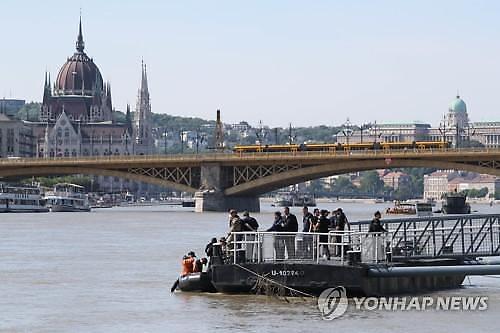 헝가리 유람선 추돌 크루즈 선장 구속…법원, 영장발부