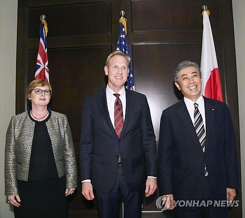 미국·일본·호주 국방, 북한에 비핵화 협상 복귀 촉구