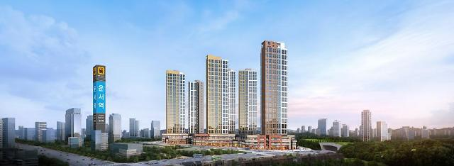 인천 공항철도 운서역세권서 16년 만에 새 아파트 선봬
