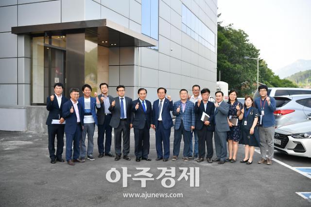 박윤국 포천시장, 6월 첫 주 중소기업 방문