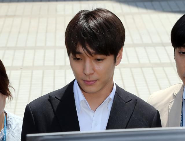 '집단성폭행 혐의' 최종훈, 구속기소...정준영과 함께 재판 받을 듯