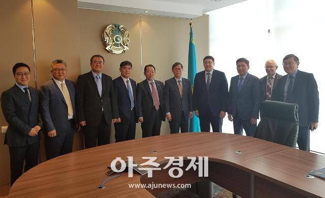 [동정] 정재훈 한수원 사장, 카자흐스탄 원전 수주 활동 펼쳐