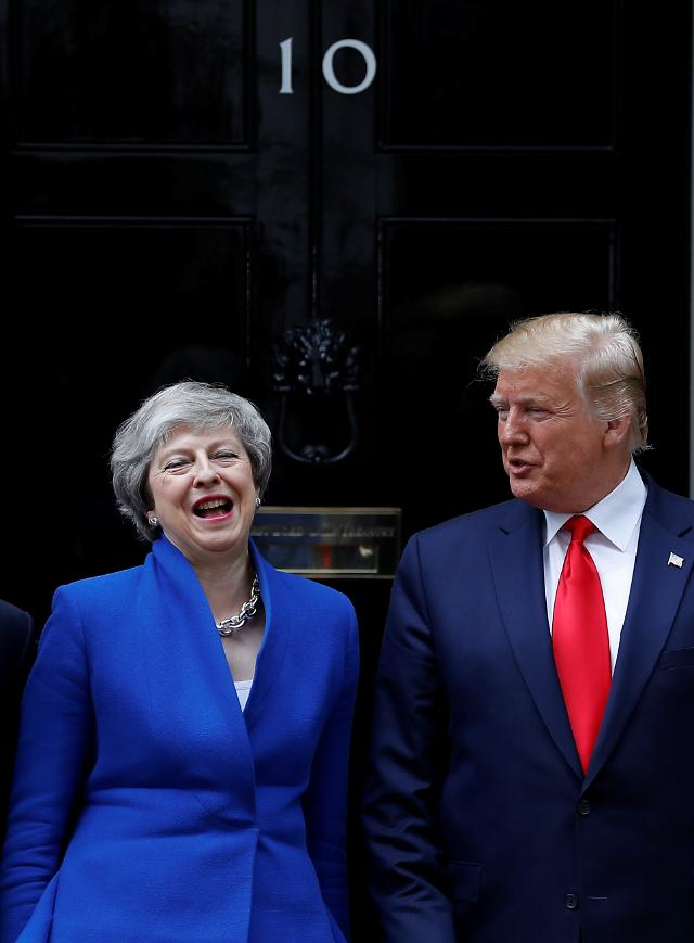 """트럼프 """"영국과 중요한 무역협정 체결 가능"""""""