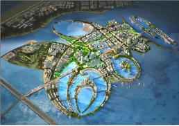 .Opposition to new state project to build smart waterfront city on reclaimed land.