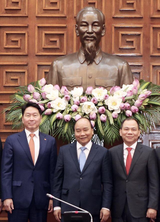 최태원 회장 등 SK경영진, 베트남서 전략적 파트너십 강화