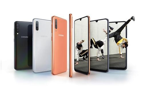 三星中低端手机Galaxy A50下周在韩面市