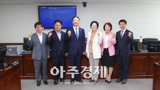 안산시의회 제1차 정례회 예결위원장 한명훈 의원 선출