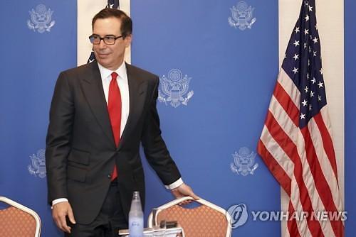 """美재무, """"G20 정상회의 후 대중 추가 관세 결정할 것"""" 재확인"""