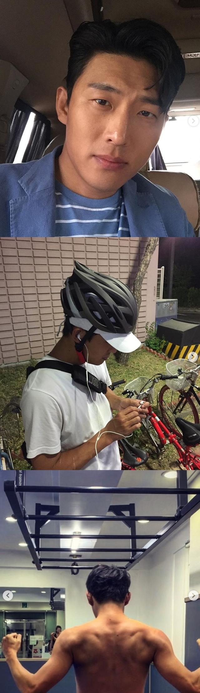 미우새 고준, 일상사진 공개…복싱부터 골프까지 열혈 운동 중